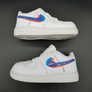 Nike Air Force 1 LV8 3D Toddler's Shoe Size:8C